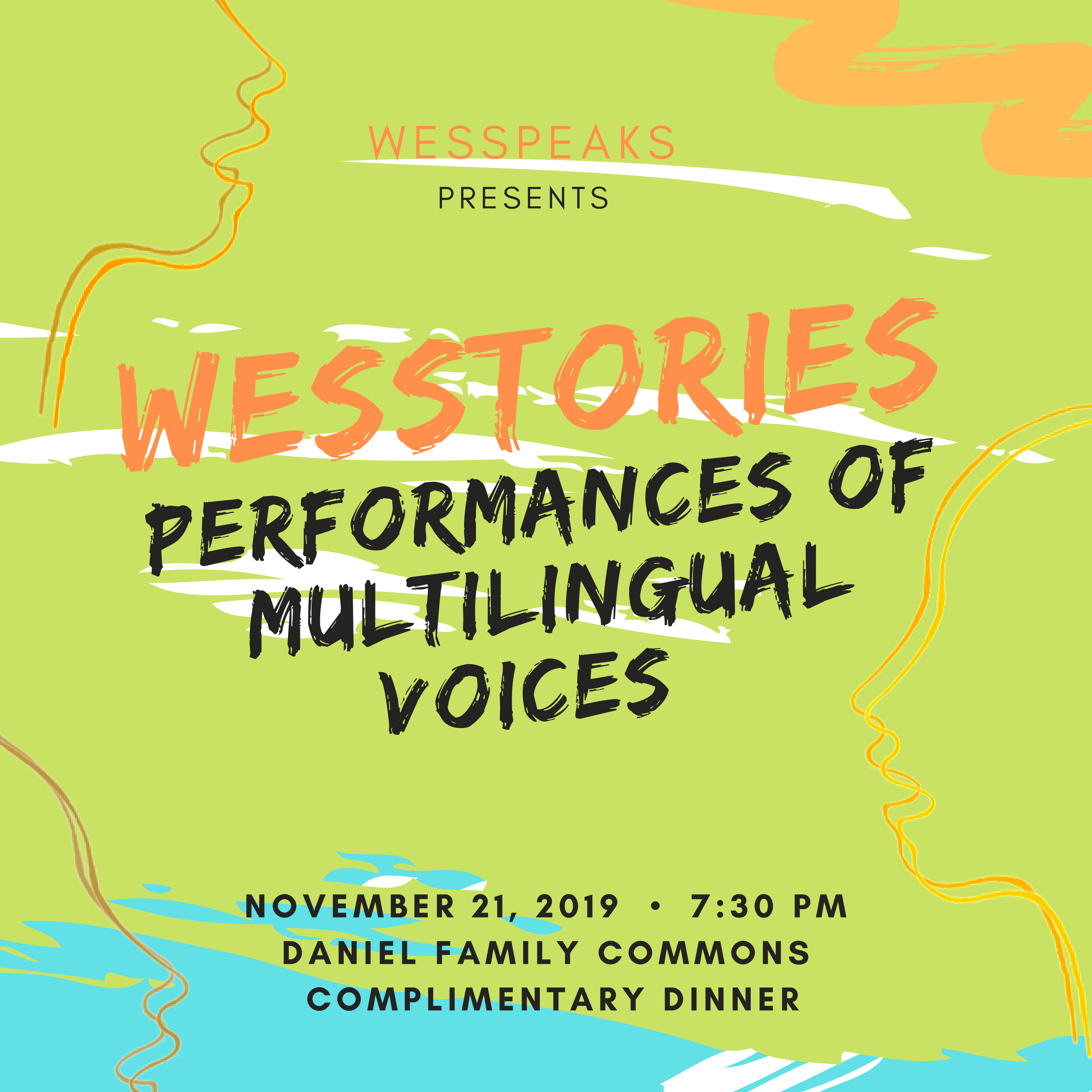 WesStories: Performances of Multilingual Voices